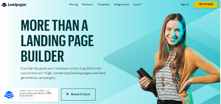 Landing Pages for Email List Building
