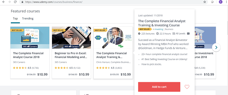 Build Emails with Online Courses