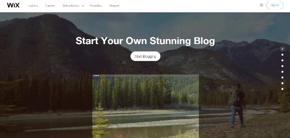 Create a Blog With Wix