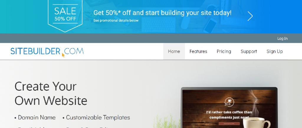 SiteBuilder Details